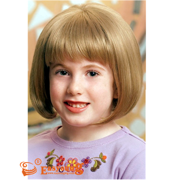 Kids Bob Wig Short Hair Wigs For Child Ysc 05 Child Tween Wig Easyoung Industry Co Ltd