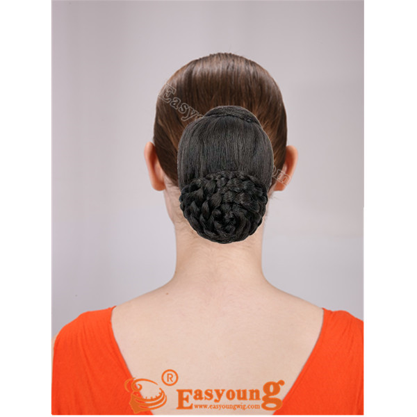 Braided chignon hairpieces bunHL-2821L