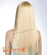 Lady's blonde wigs long hair product Synthetic hair wigs 6226