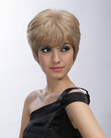 Synthetic hair wigs, blonde wigs for ladies YS-9026