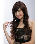 Natural hair style synthetic wigs suppliers YS-9023