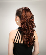 Fake ponytail hair pieces, claw clip in hair YS-8023
