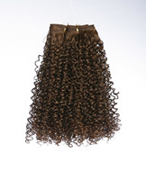 Short afro curly hair extension for black people 18